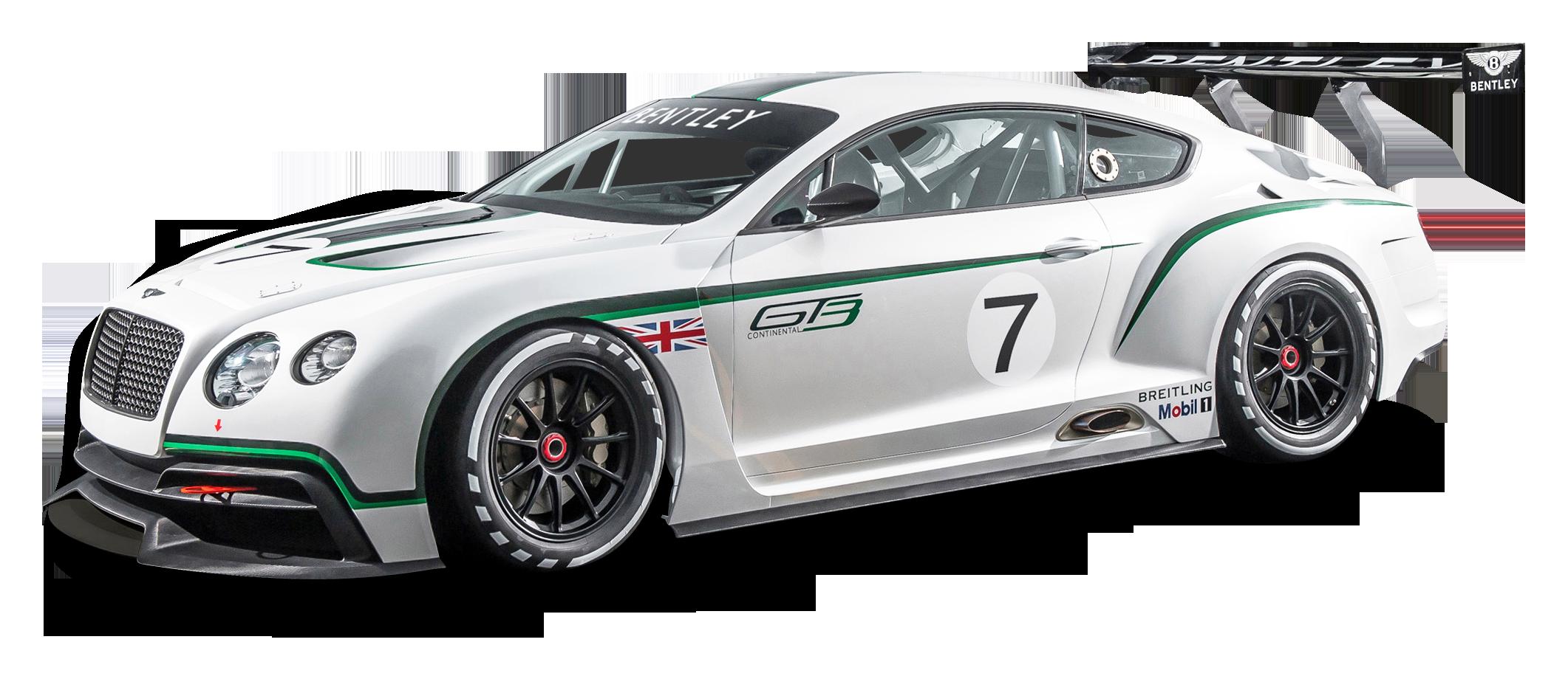 Bentley Continental GT3 R Race Car PNG Image