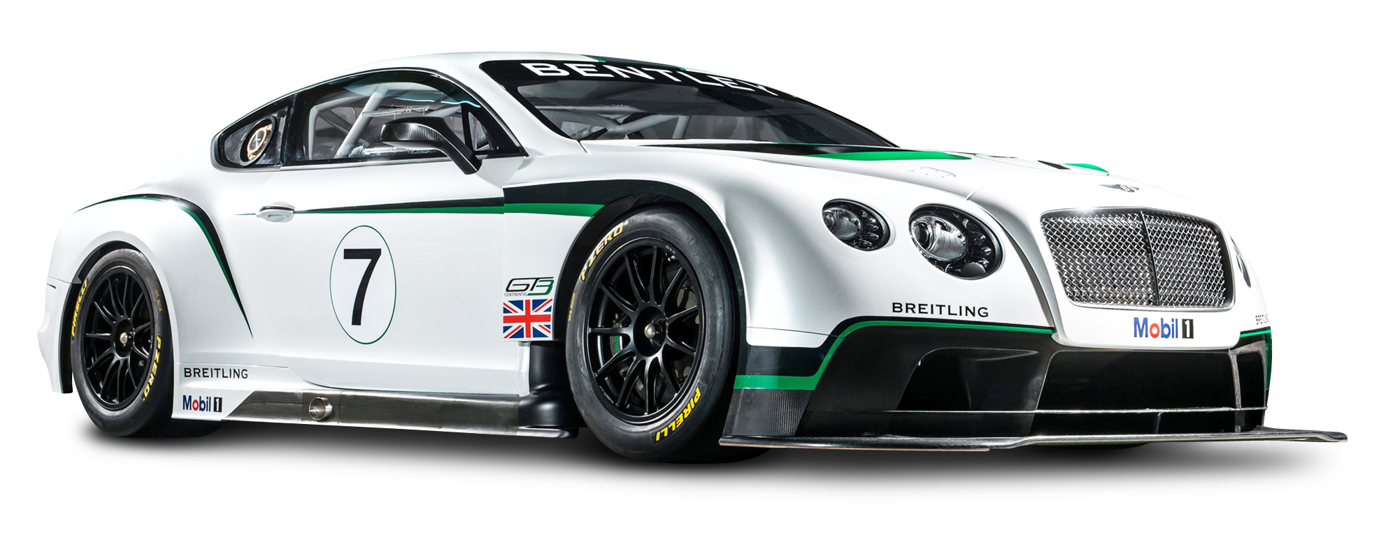 Bentley Continental GT3 R Racing Car PNG Image