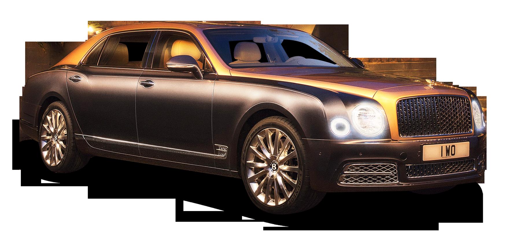Bentley Mulsanne Black Car