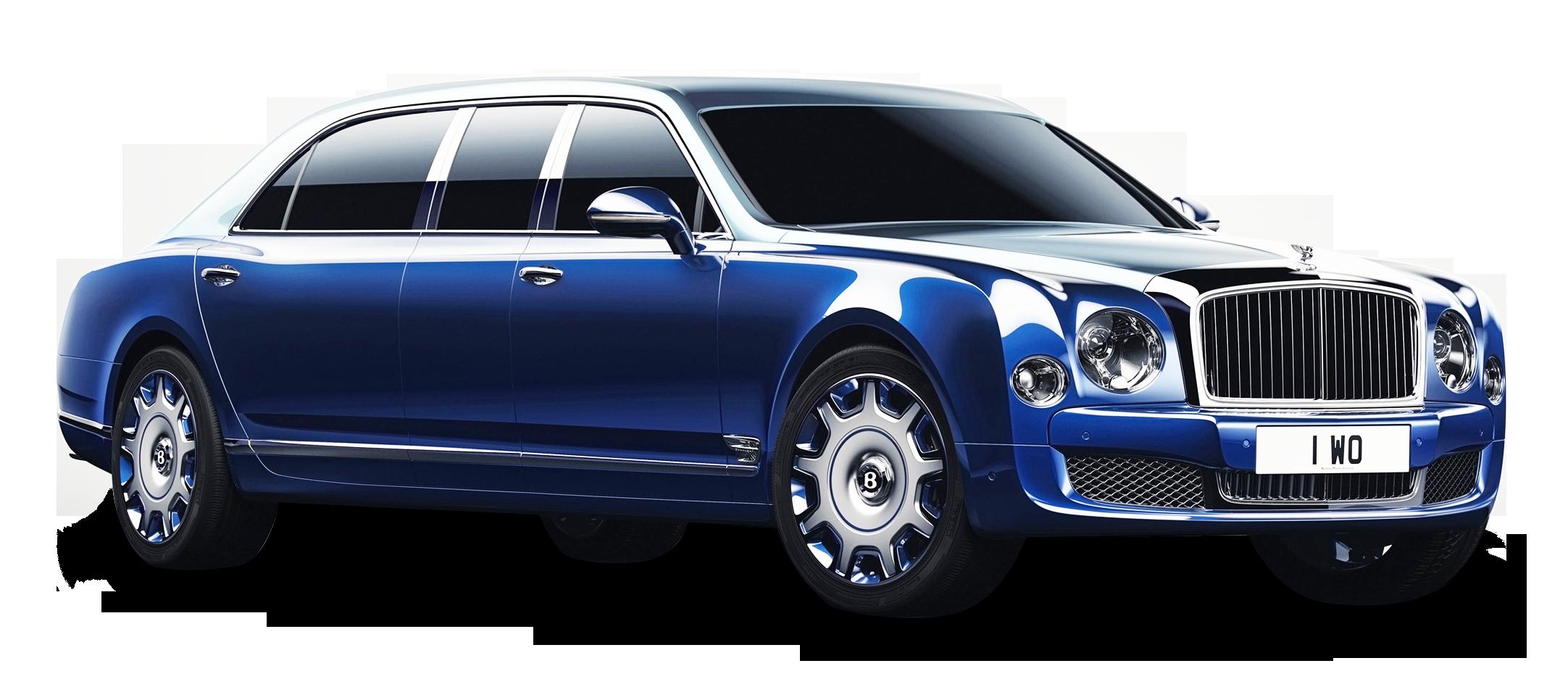 Bentley Mulsanne Grand Limousine Blue Car