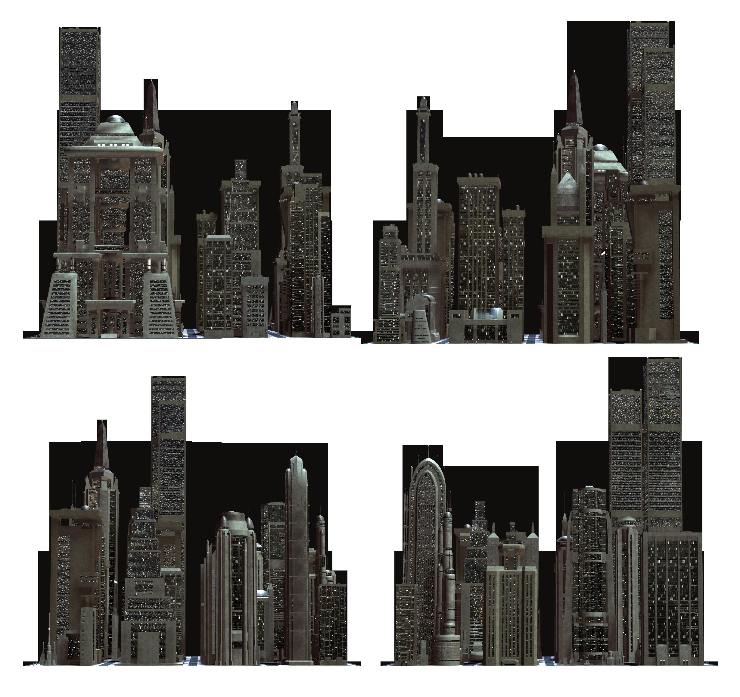 Big Building PNG Image