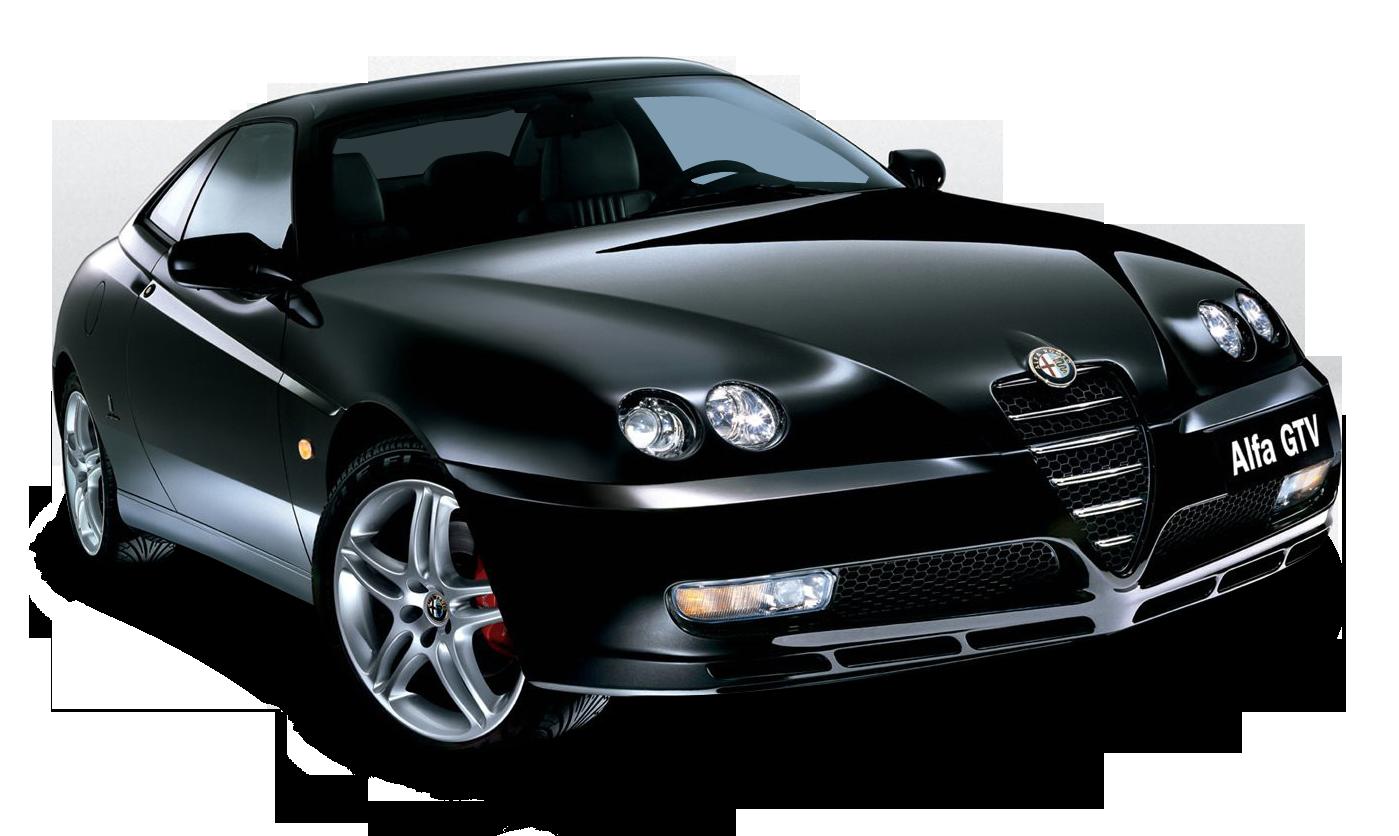 Black Alfa Romeo GTV Car