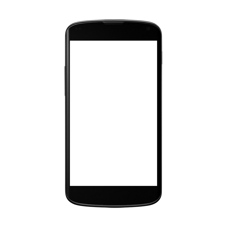 Black Android Smartphone Clipart PNG Image - PurePNG ...