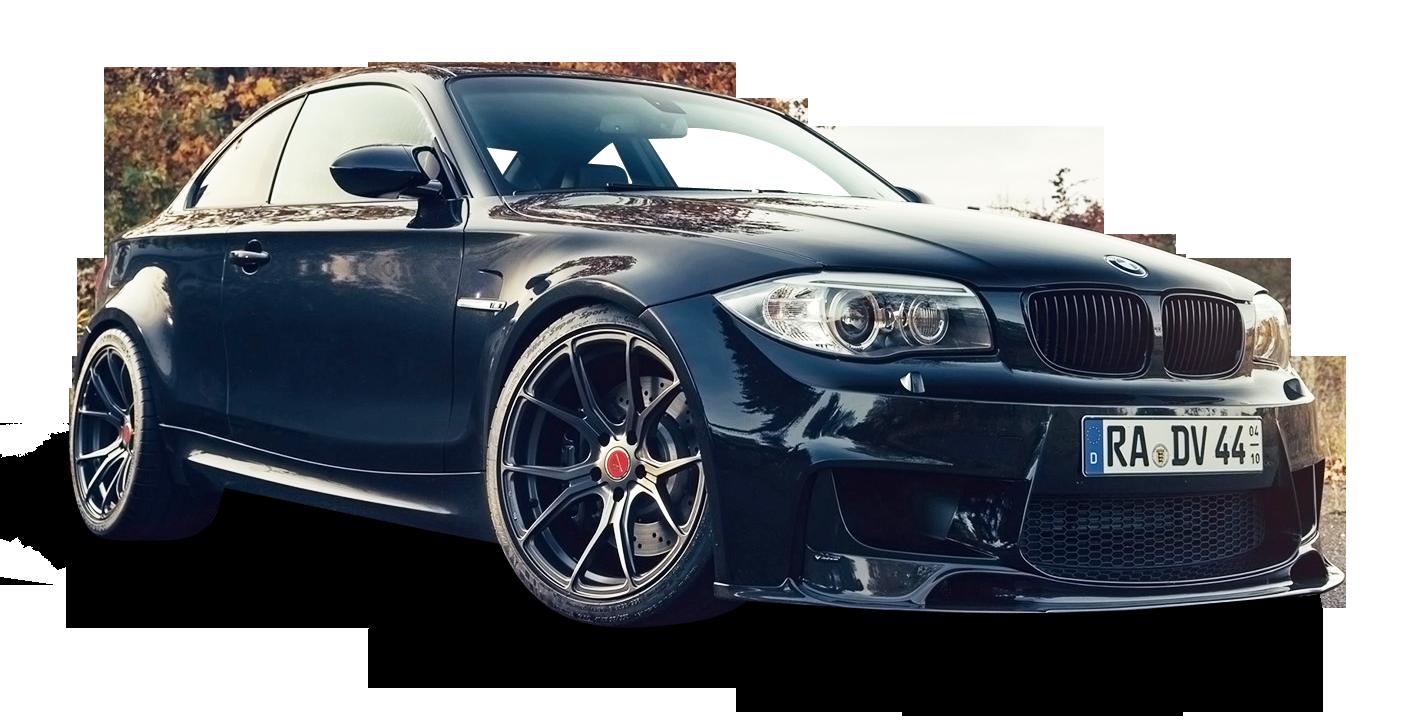 Black BMW 1M V FF Car