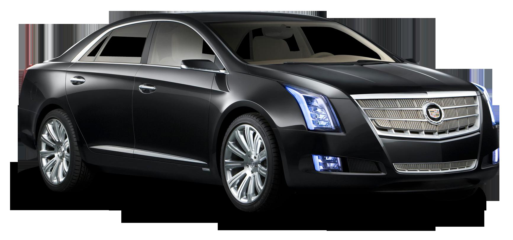 Black Cadillac XTS Platinum Car