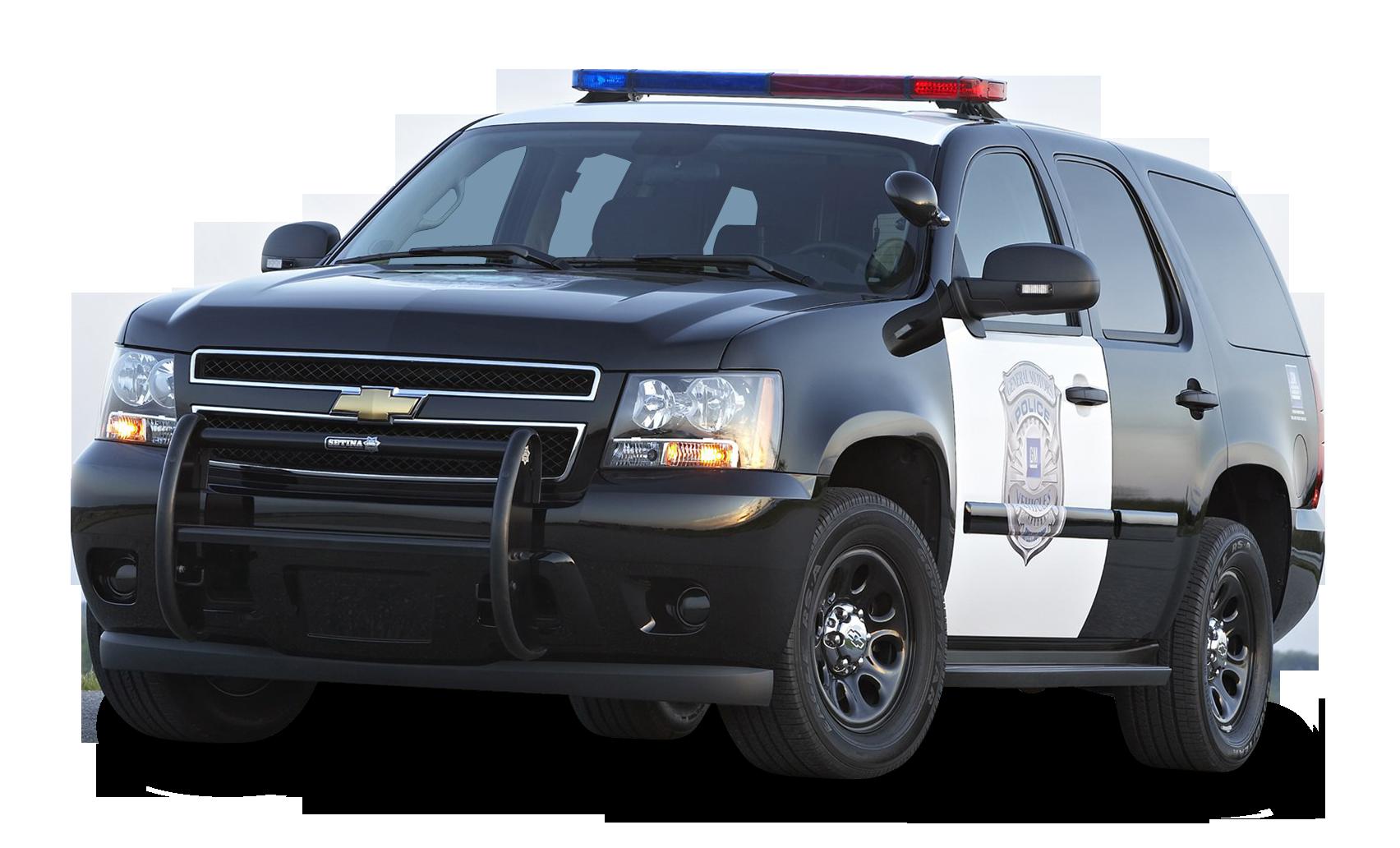 Black Chevy Tahoe Police SUV PPV Car