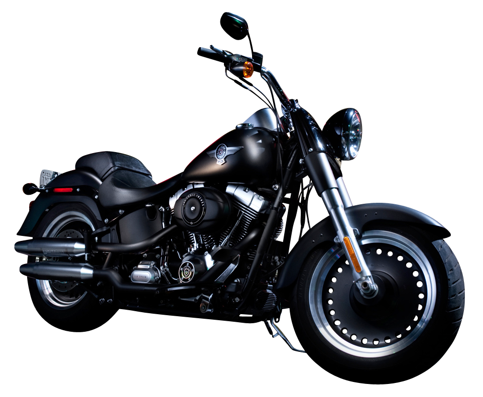 Black Color Harley Davidson