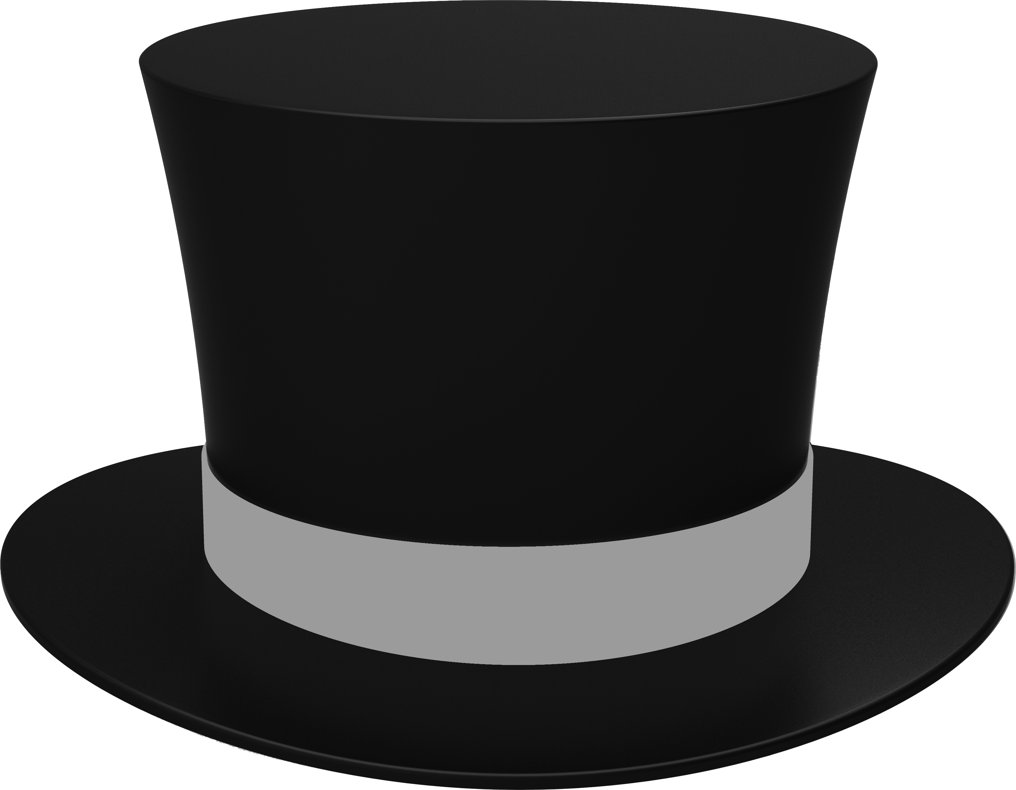 Black Cylinder Hat PNG Image - PurePNG   Free transparent ...