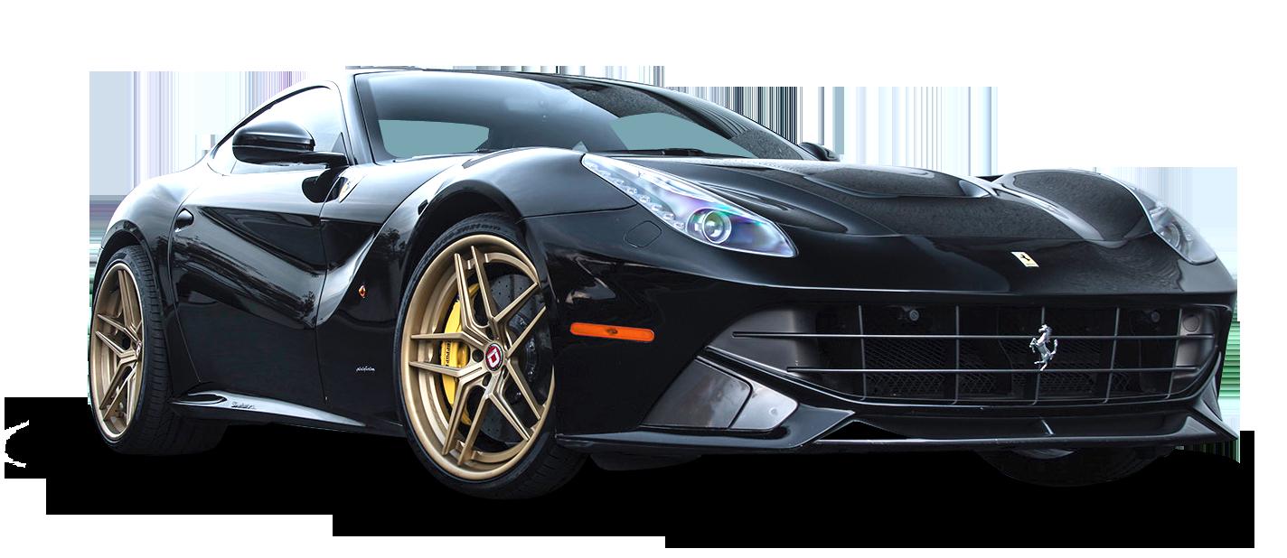Black Ferrari F12 Berlinetta Car Png Image Purepng Free Transparent Cc0 Png Image Library