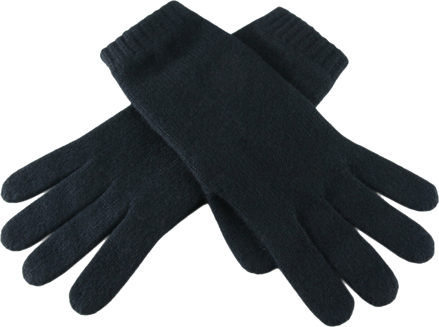 Black Gloves PNG Image