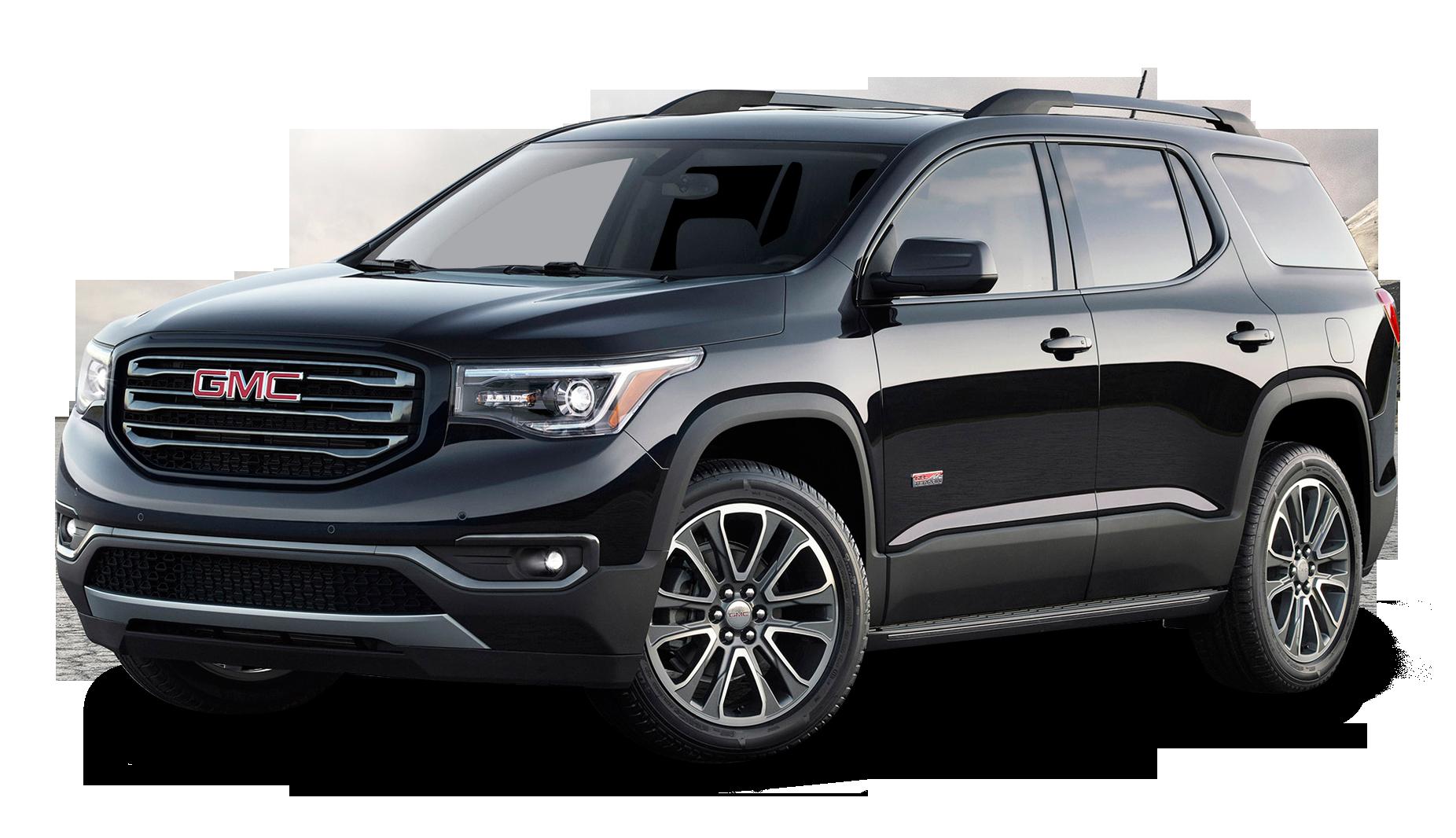 Black GMC Acadia All Terrain Car