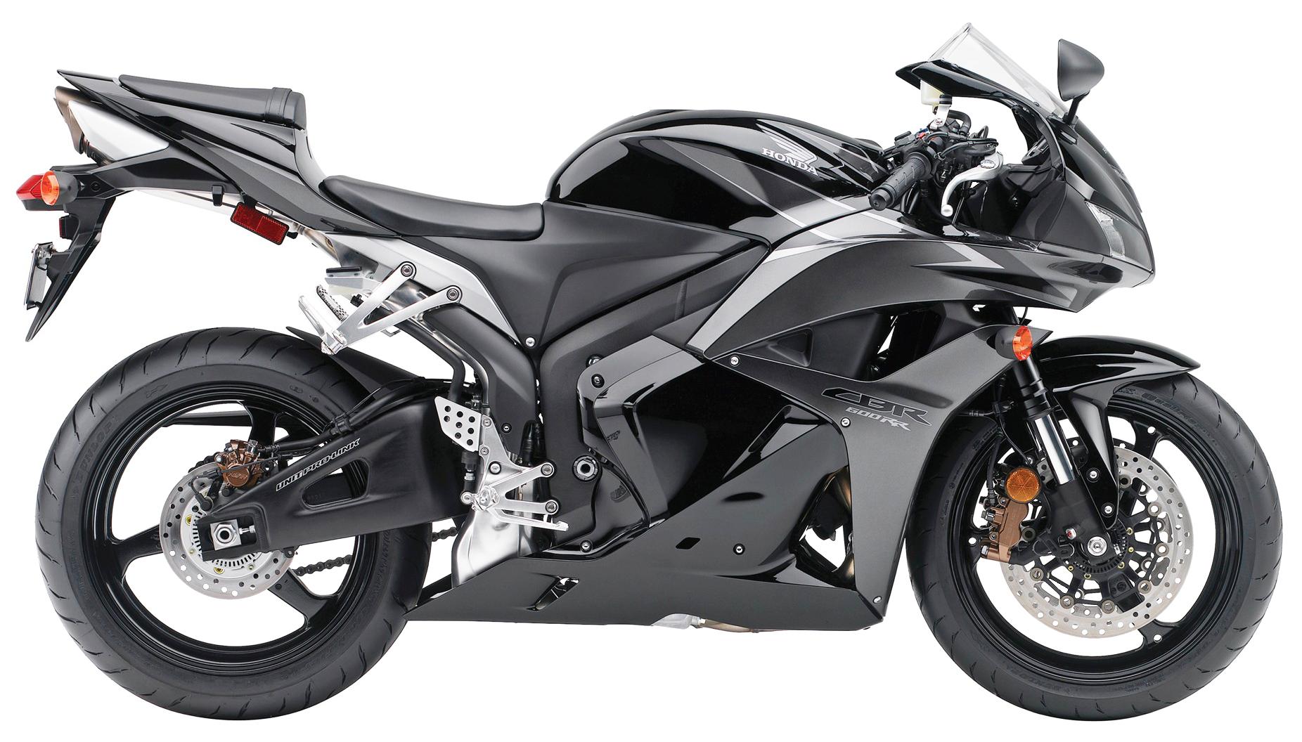 Black Honda CBR 600RR PNG Image