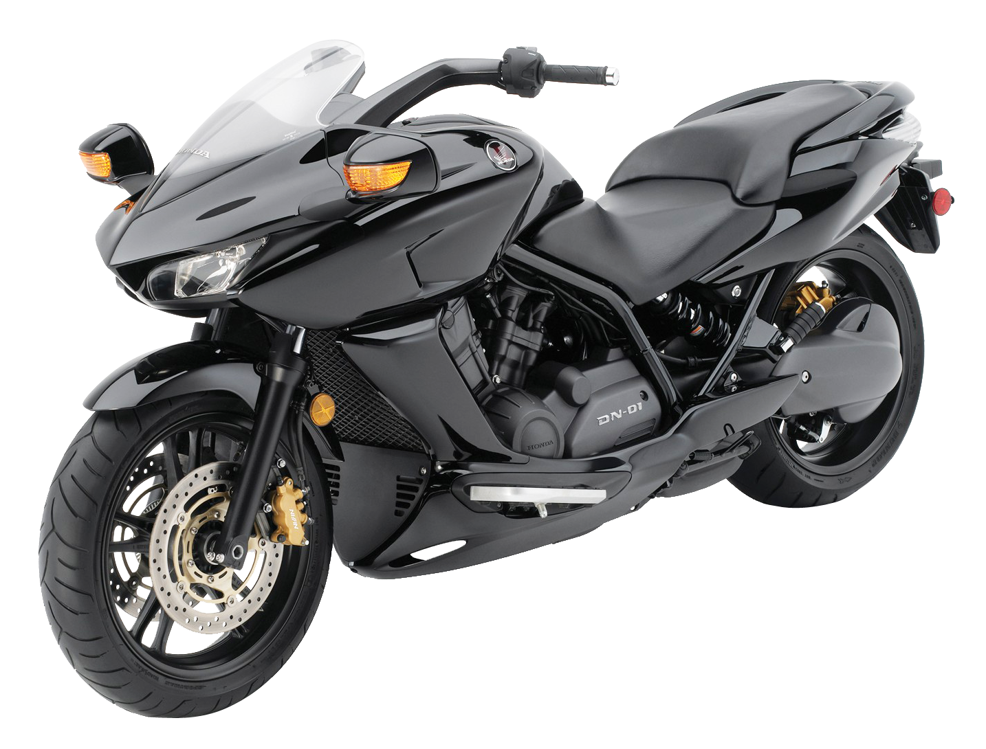 Black Honda DN 01 PNG Image
