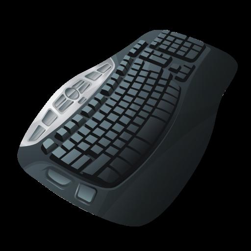Black Keyboard PNG Image