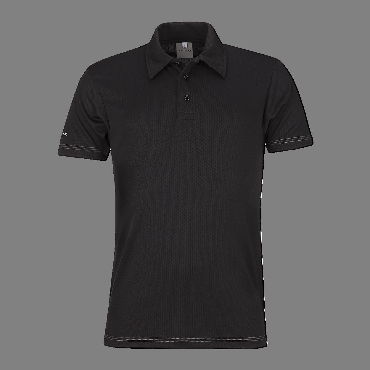 Black Kolar Polo Shirt