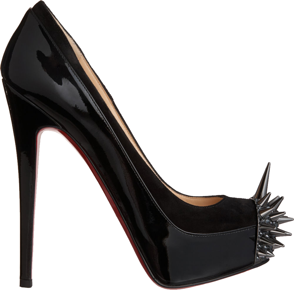 Black Louboutin Lady's