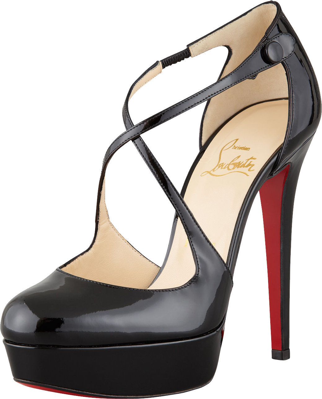 Black Louboutin Women's High