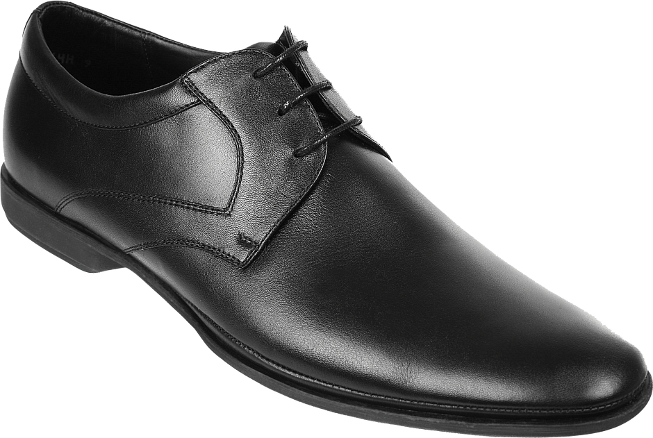 Black  Men Shoes PNG Image