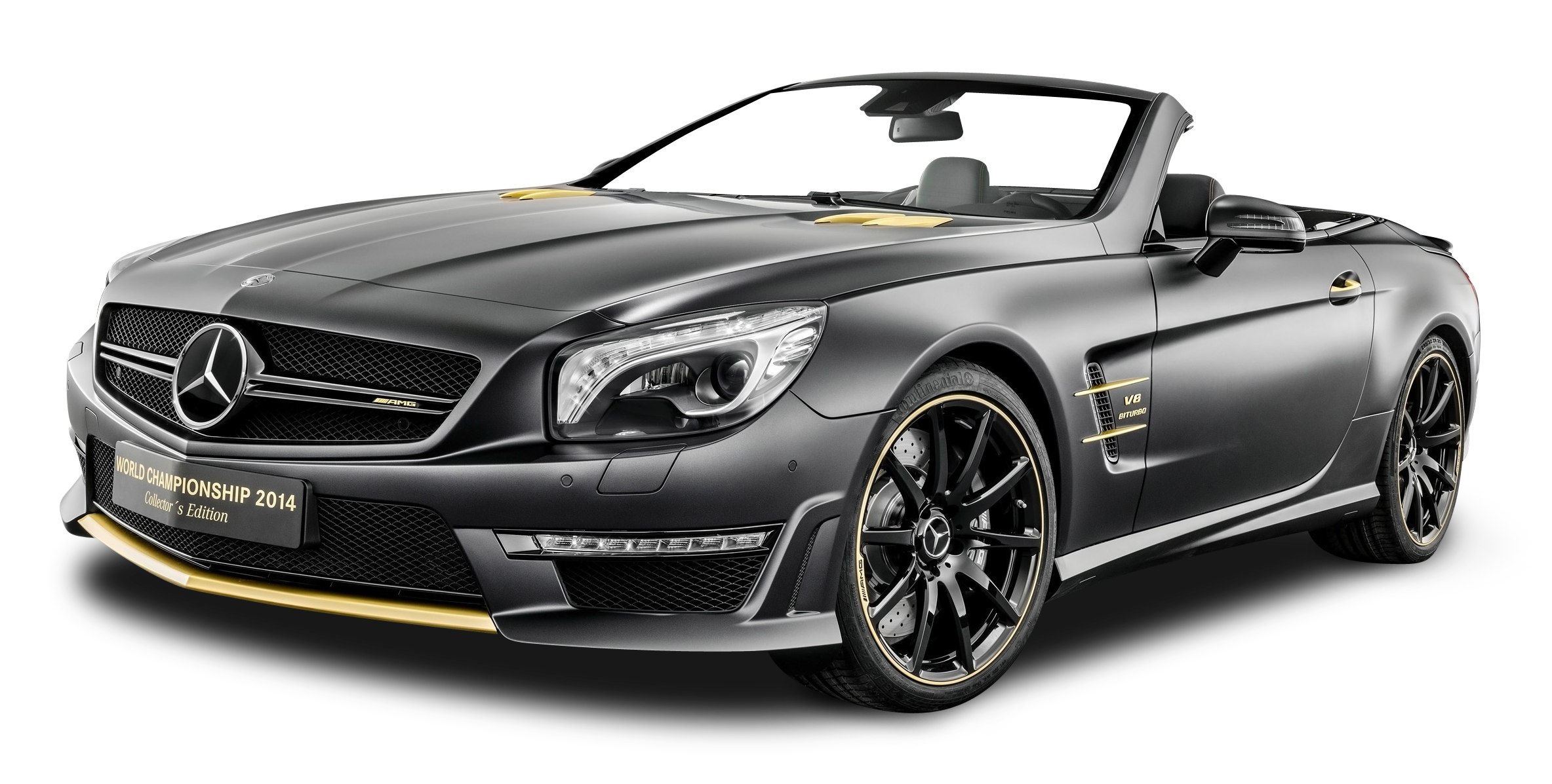 Black Mercedes AMG SL63 Car