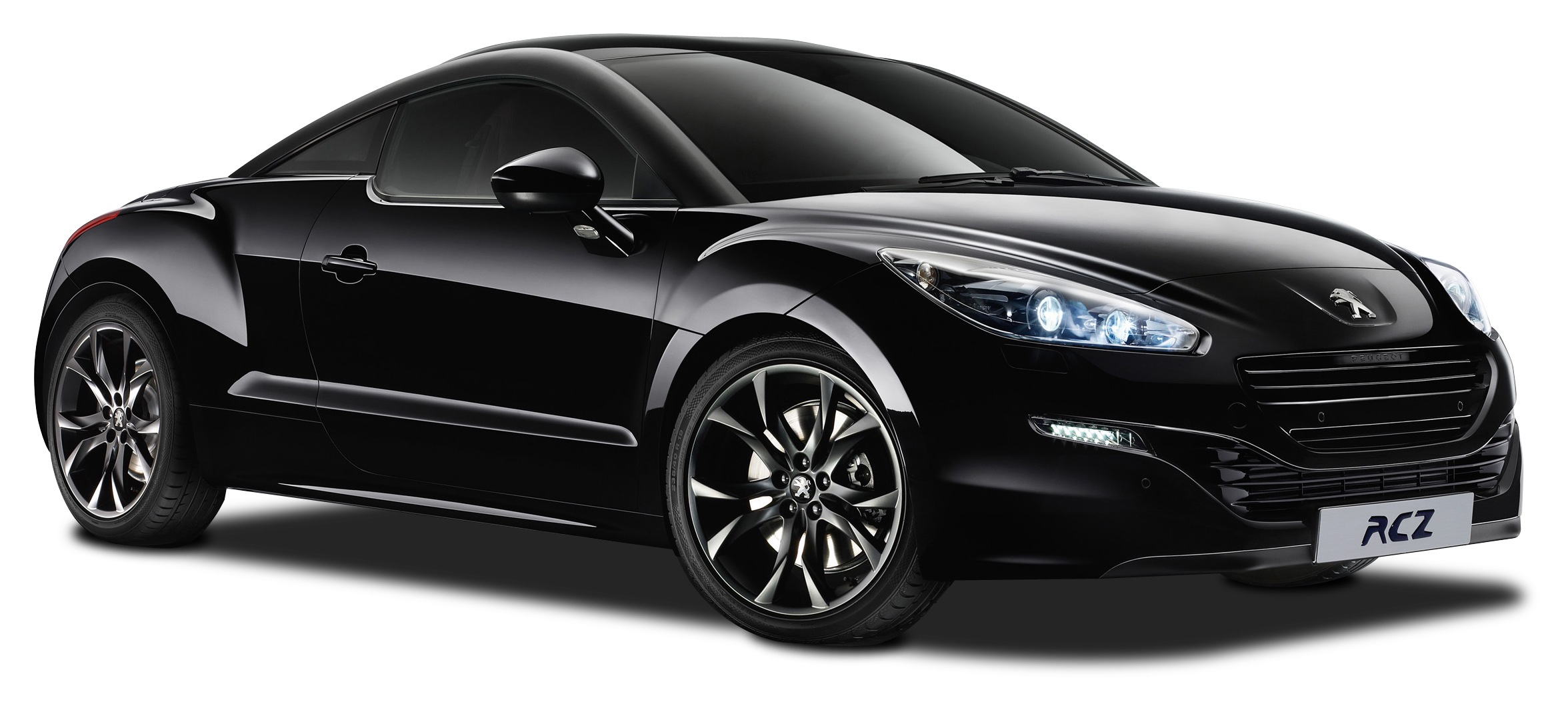 Black Peugeot RCZ Magnetic Car