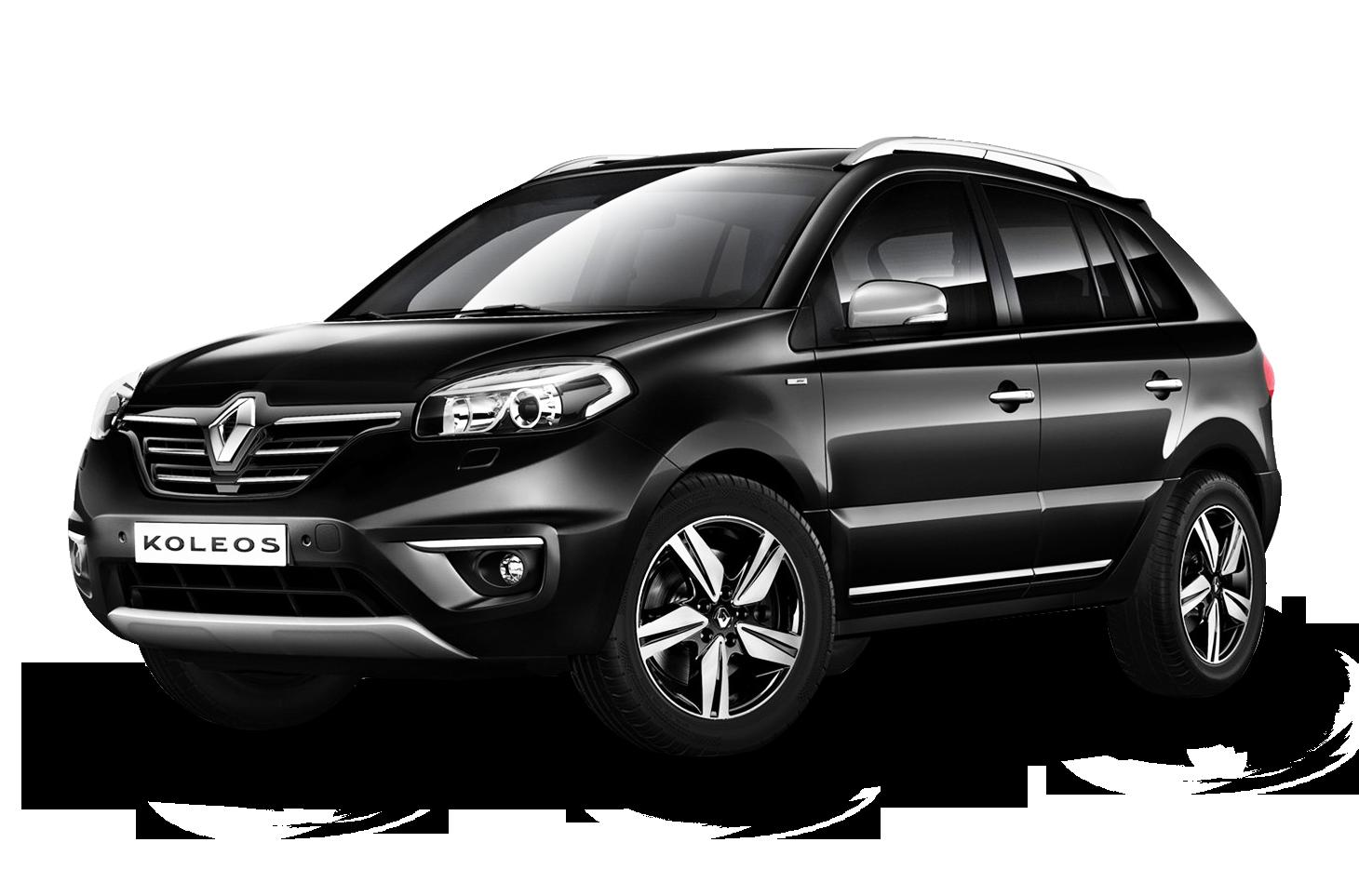 Black Renault Koleos Car PNG Image