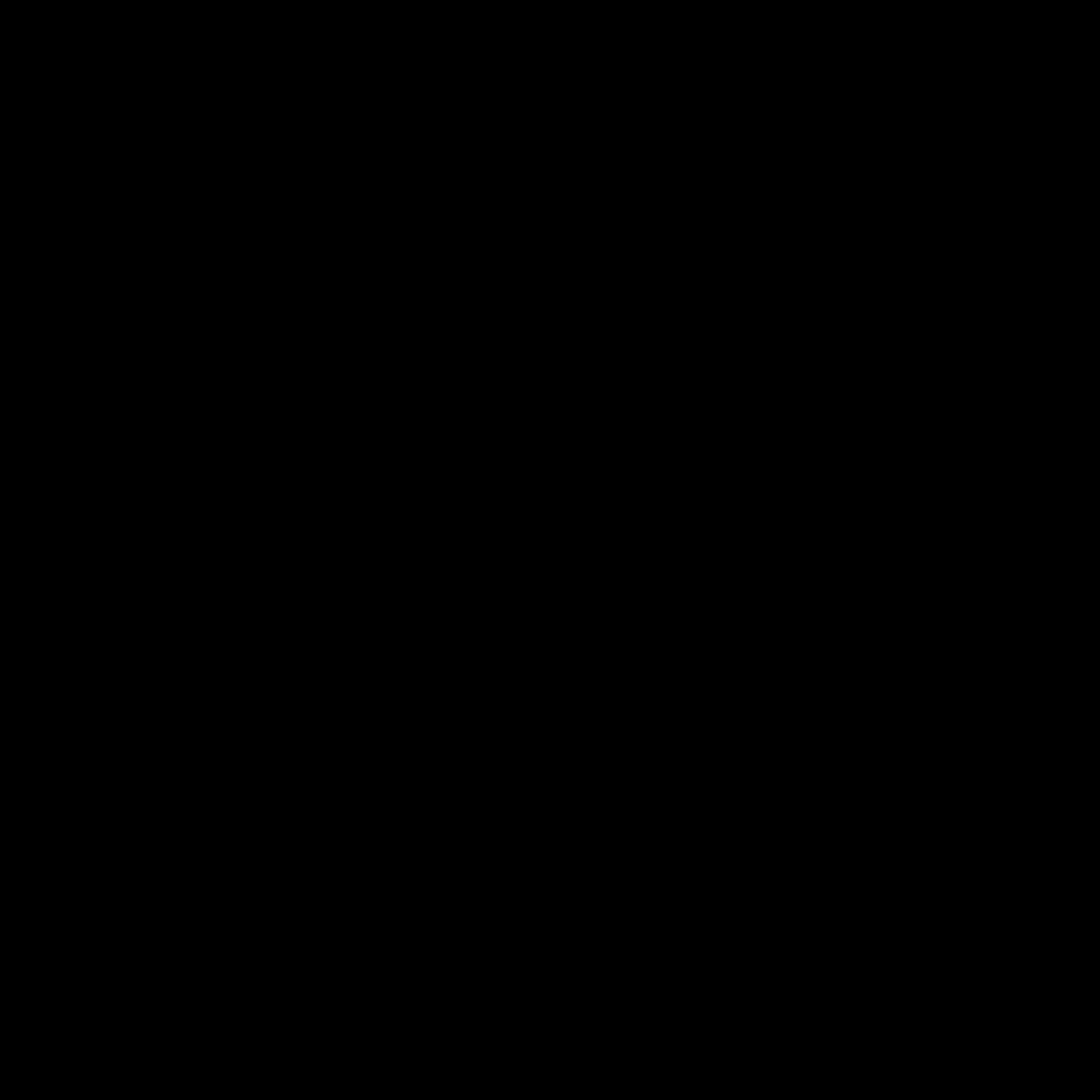 Black Shape Paper Plane PNG Image