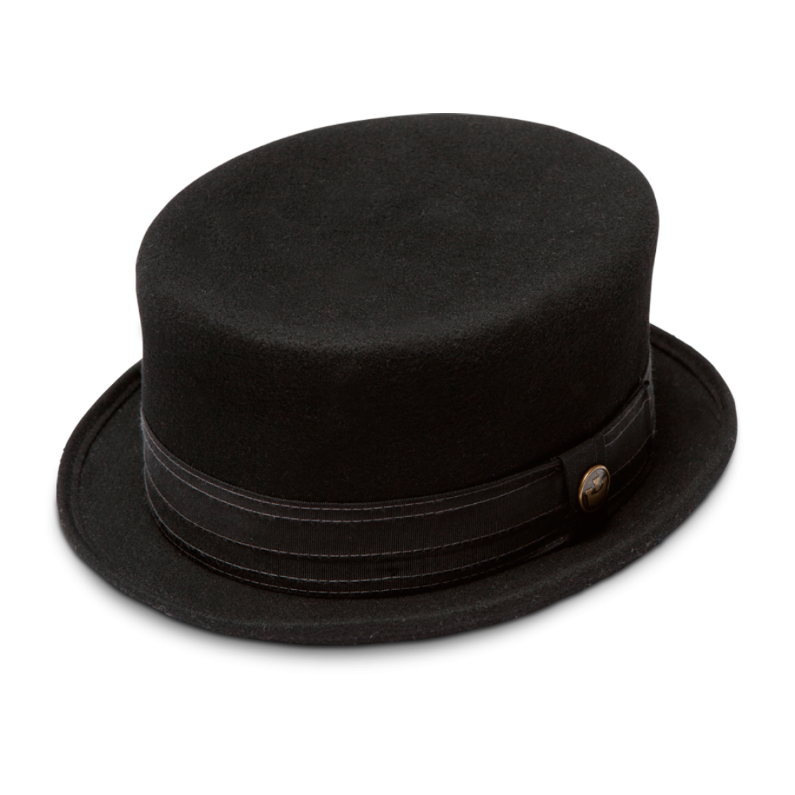 Black Small Hat PNG Image