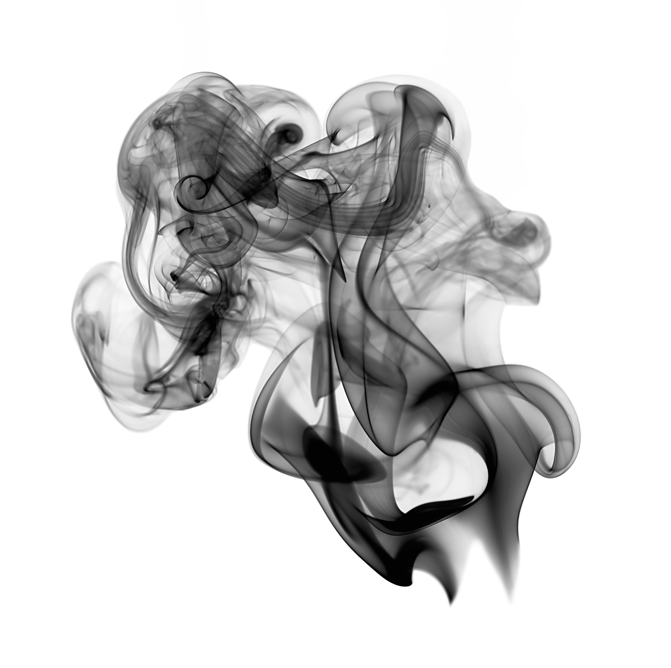 Black Smoke PNG Image