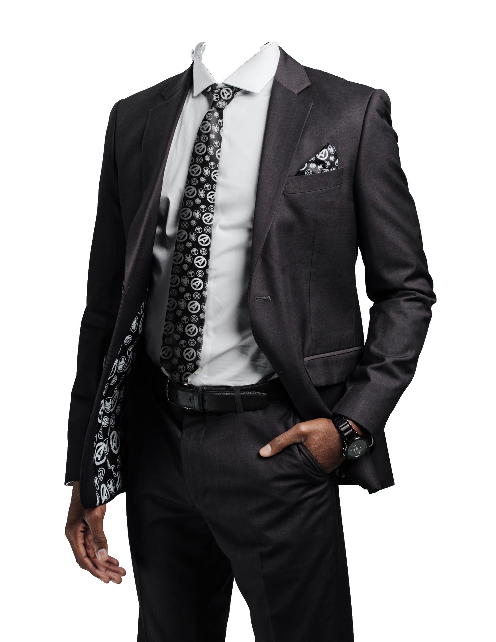 Black Suit PNG Image