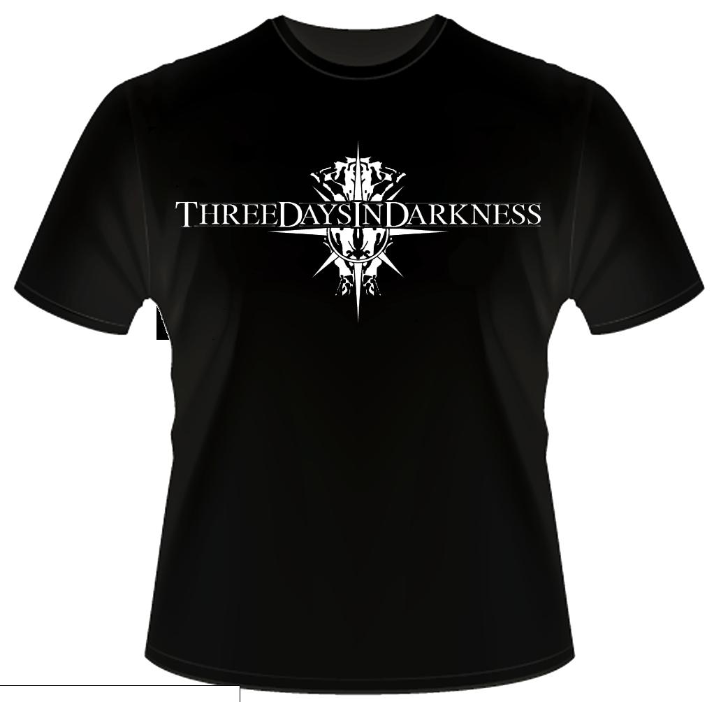 Black T-Shirt PNG Image