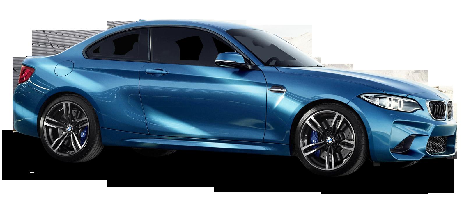 Blue BMW M2 Car