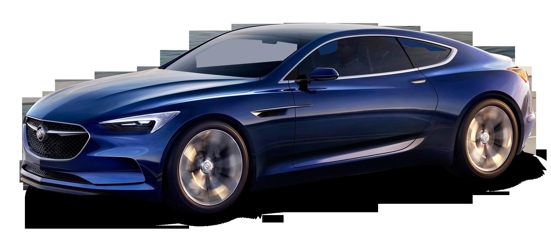 Blue Buick Avista Car