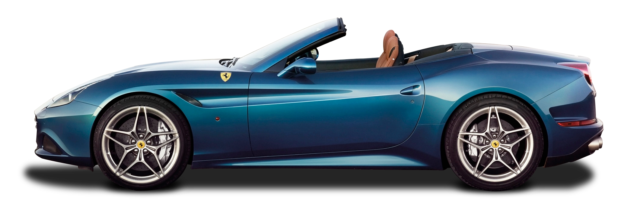 Blue Ferrari California T Car