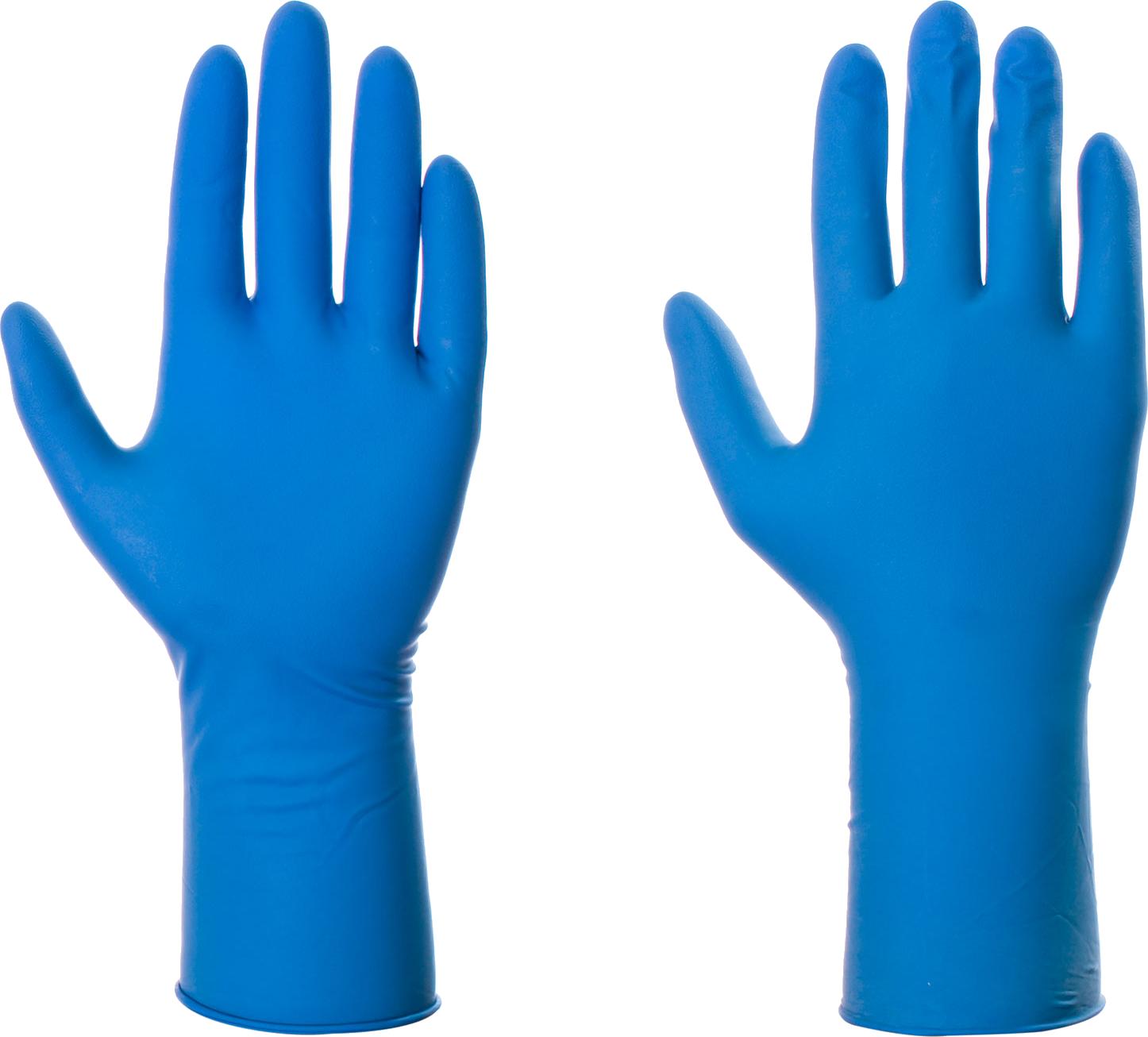 Blue Gloves PNG Image