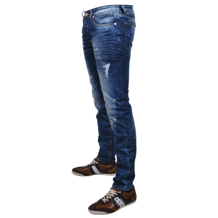 Blue Heren Jeans PNG Image