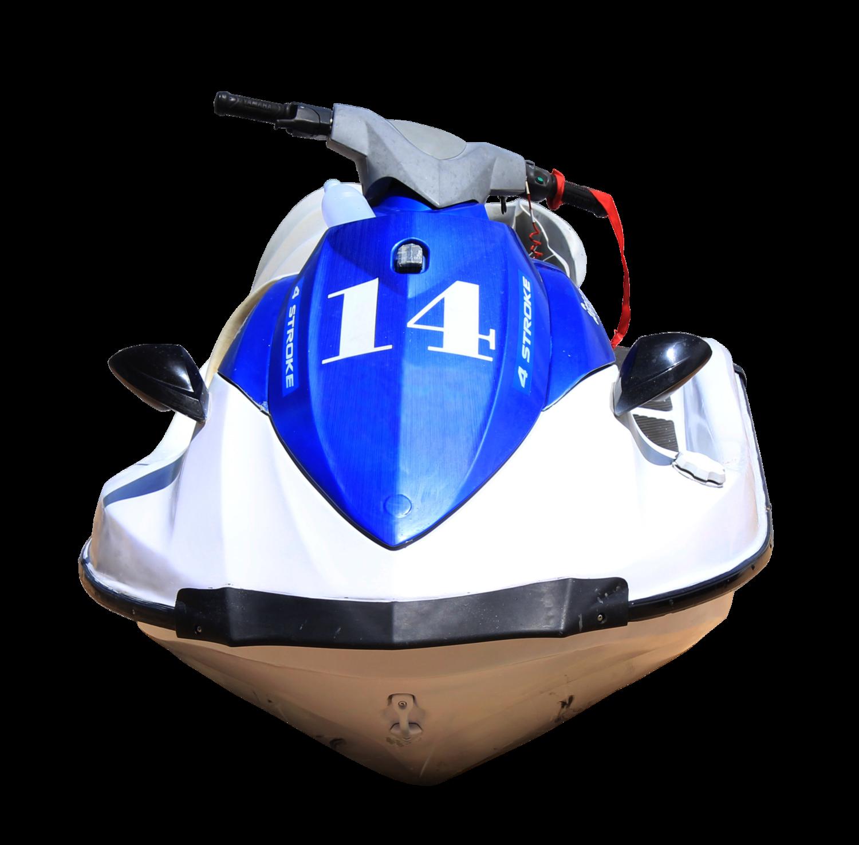 Blue Jet Ski