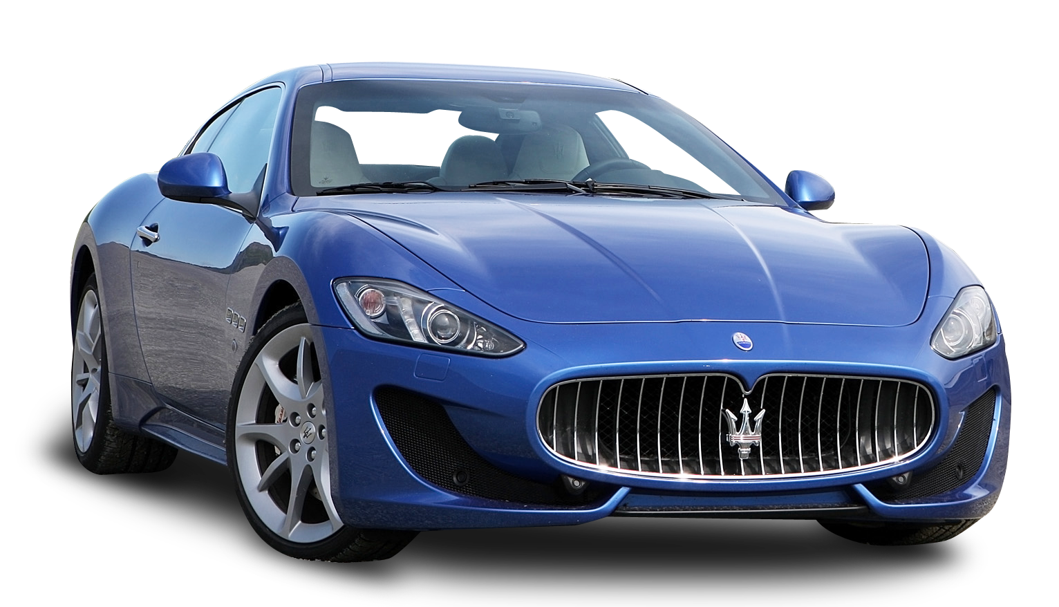 Blue Maserati GranTurismo Sport Duo Car