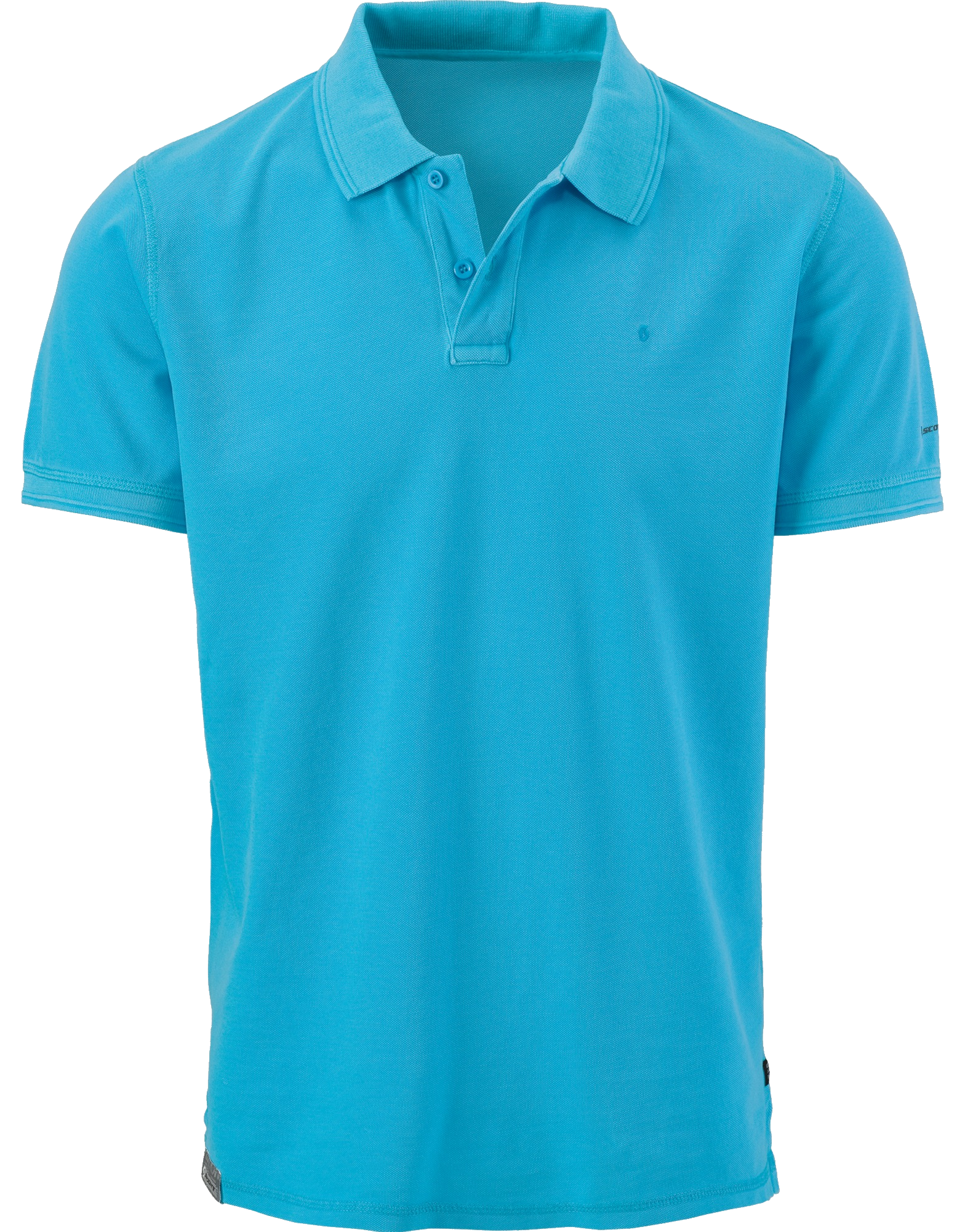 Blue Men's Polo Shirt PNG Image