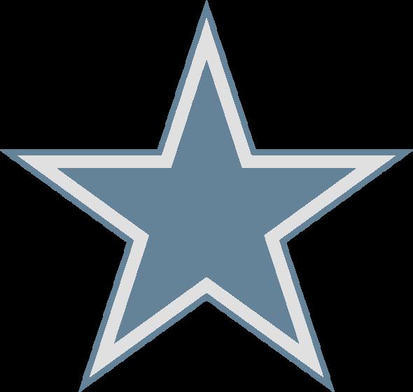Blue Star PNG Image