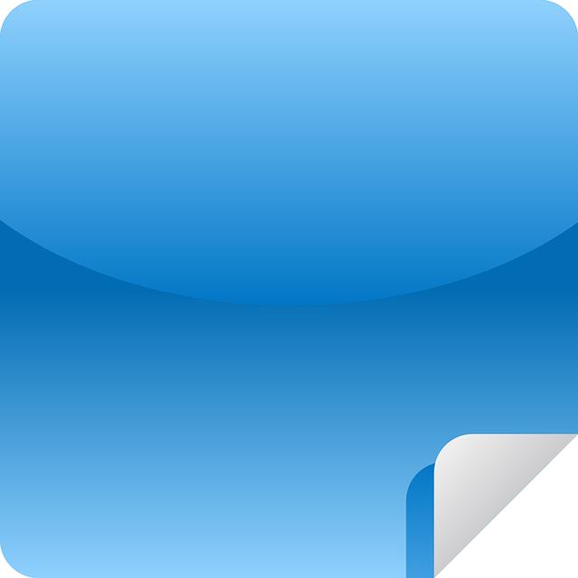 Blue Sticky Notes PNG Image