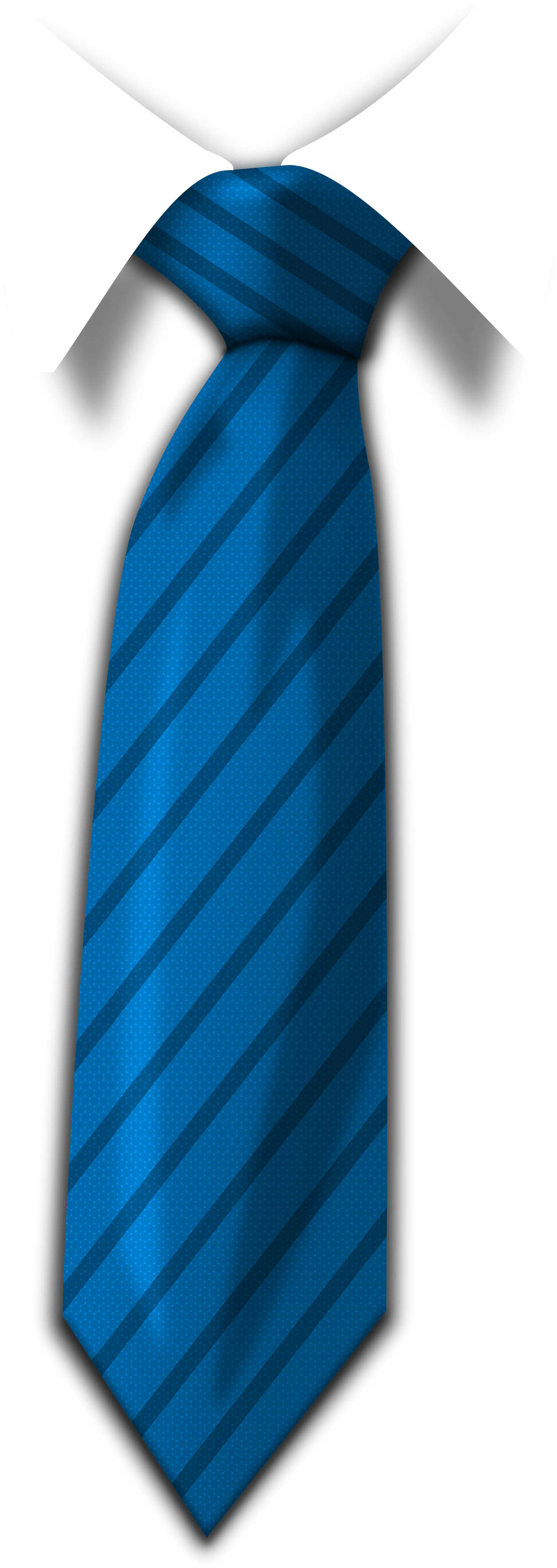 Blue Tie PNG Image