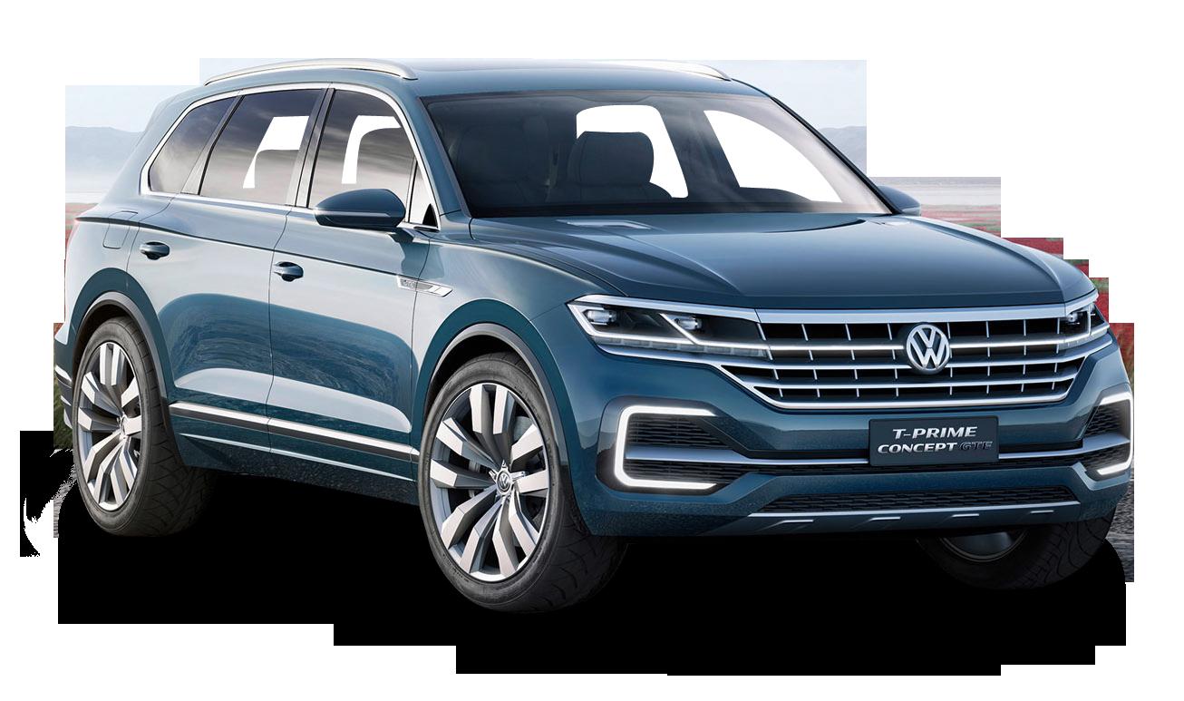 Blue Volkswagen T Prime Car