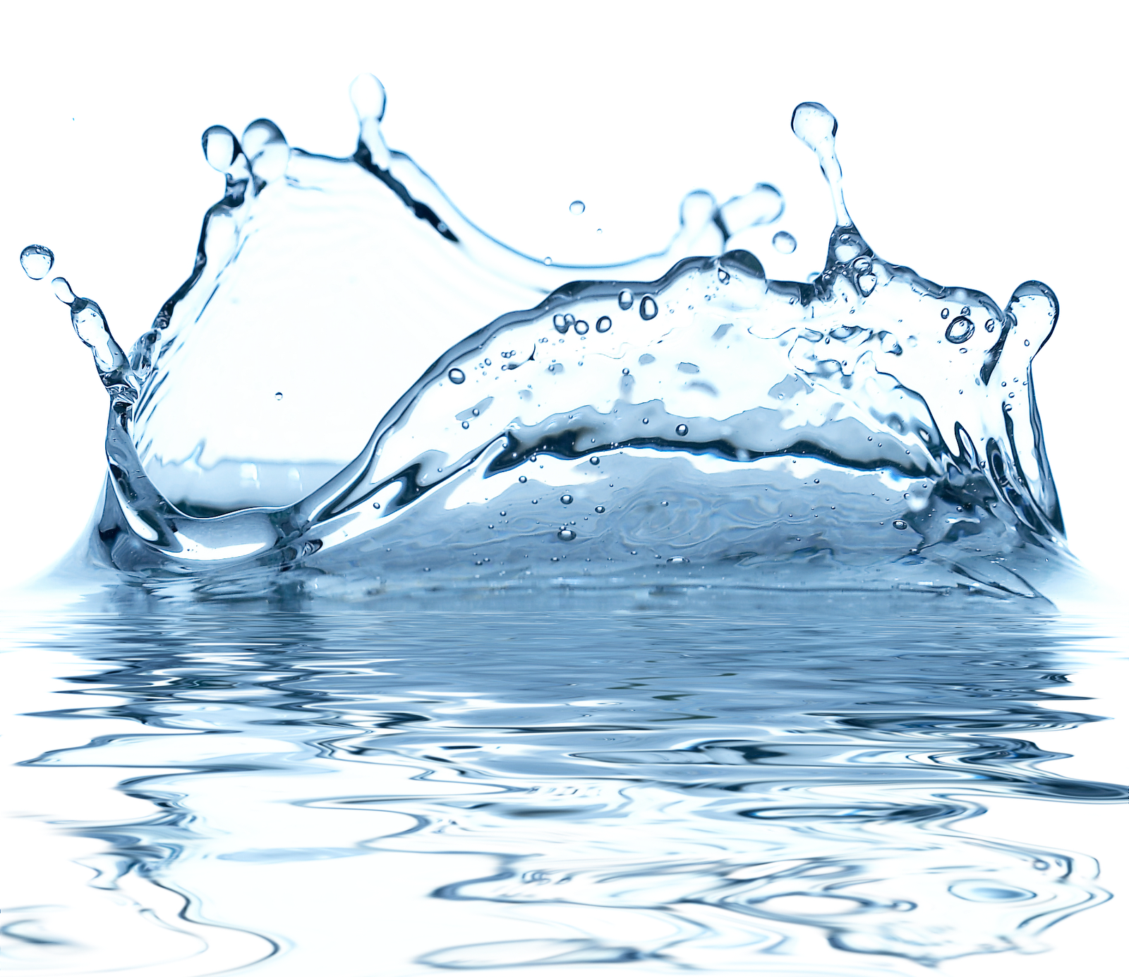 Blue Water Drop PNG Image