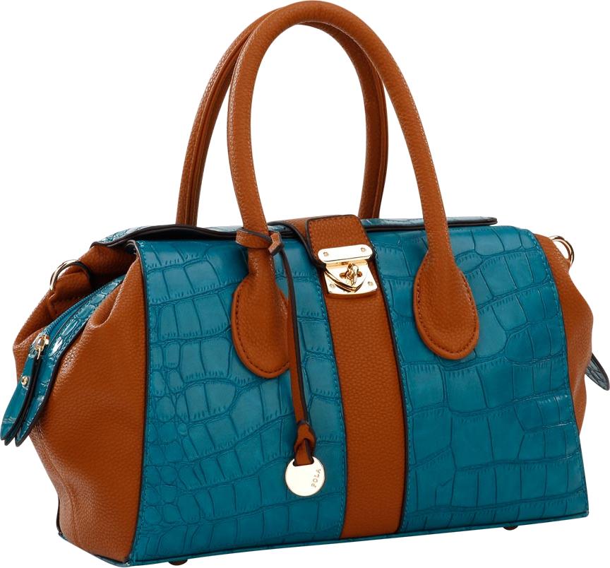 Blue Women Bag PNG Image