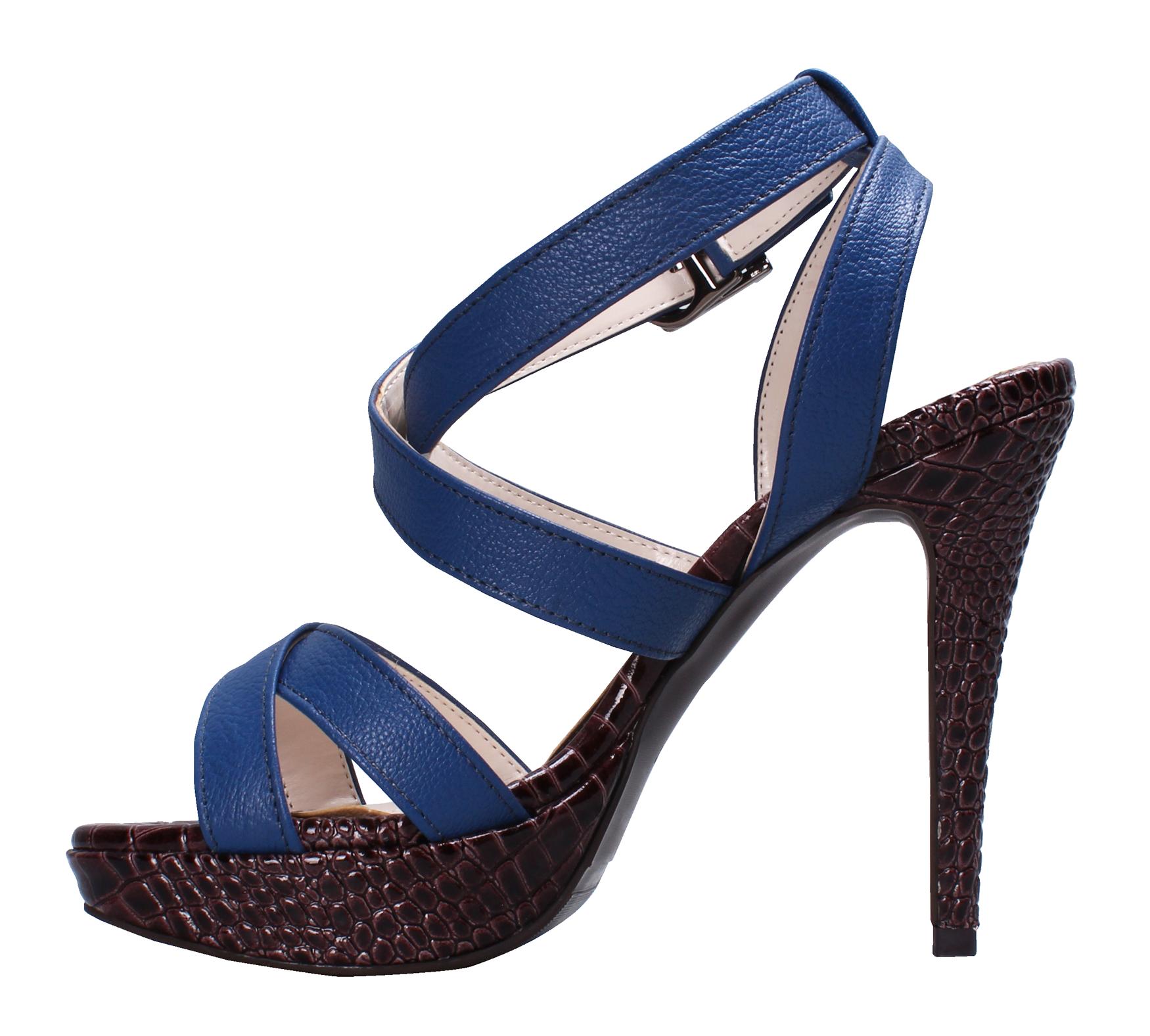 Blue Women Sandal PNG Image