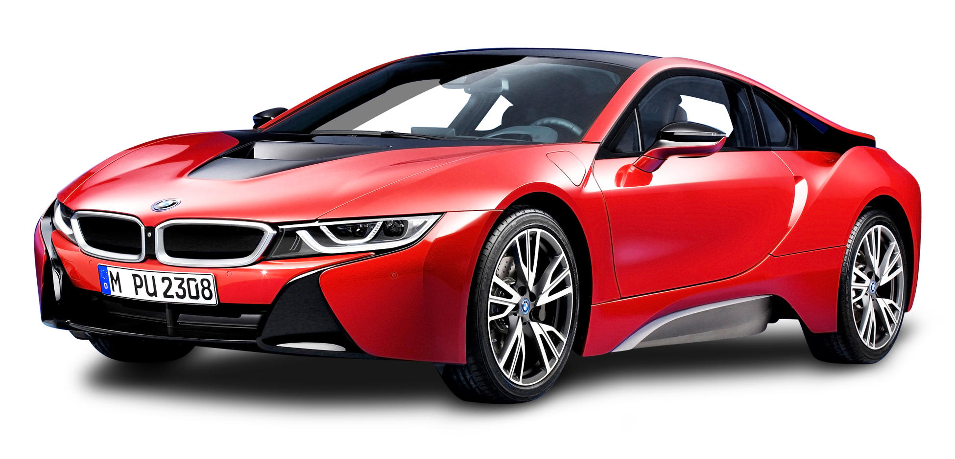 BMW i8 Protonic Red Car