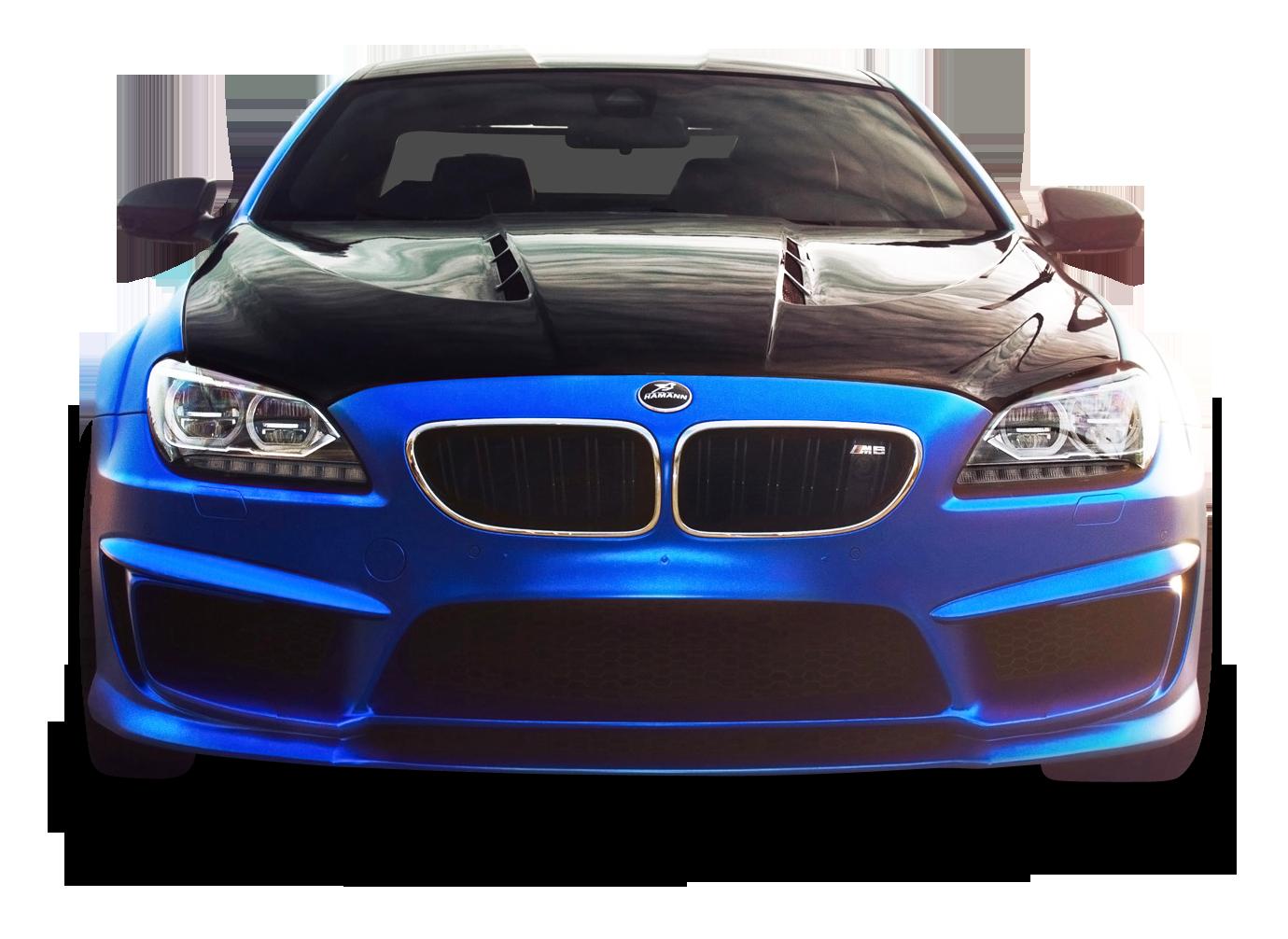 BMW M6 Blue Car