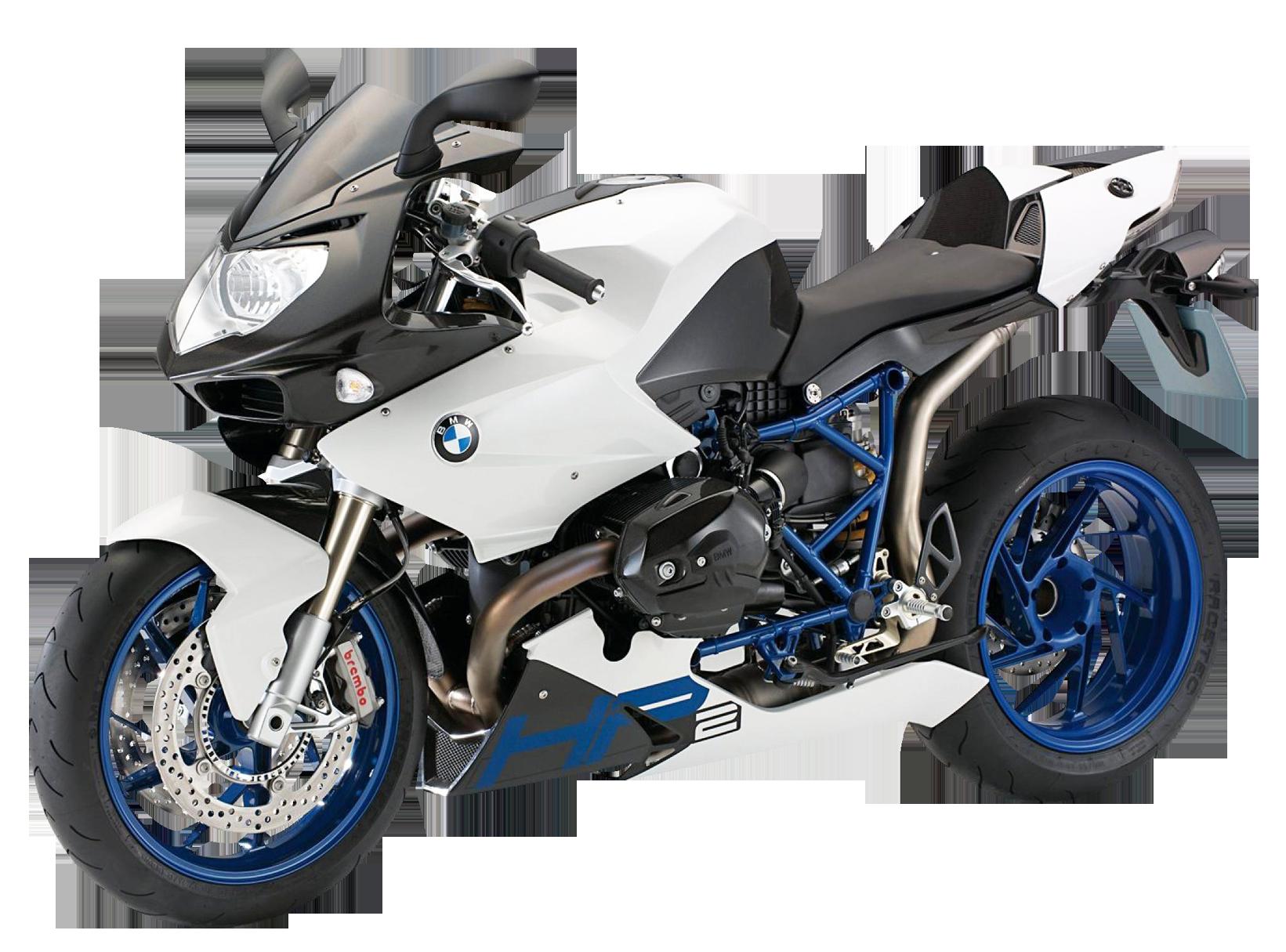 BMW Motorcycle PNG Image