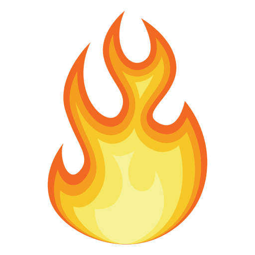 Flaming Fire PNG Image