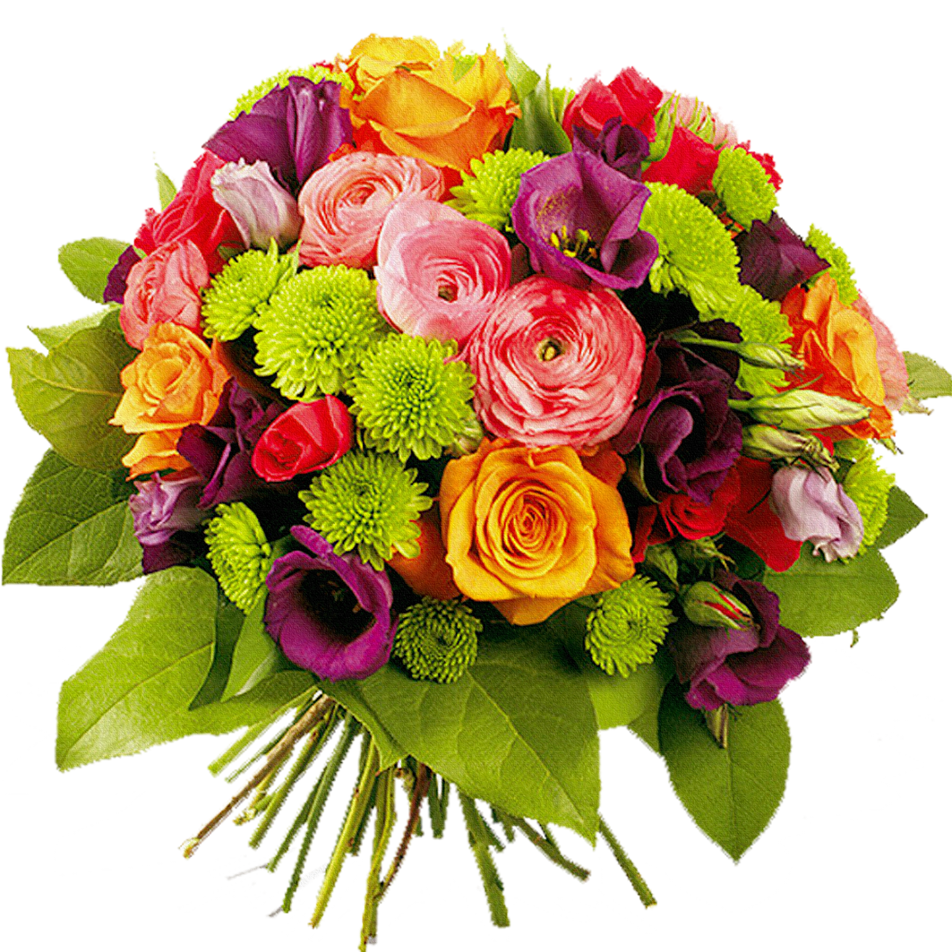 Bouquet of flowers png image purepng free transparent - Bunch of roses hd images ...